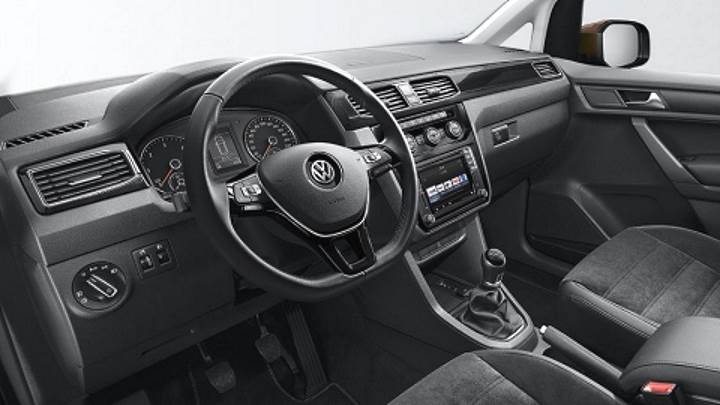 VW Daddy interior