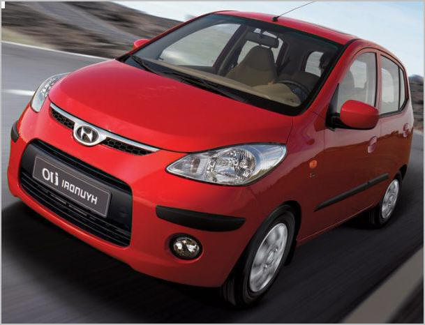 Hyundai i 10 rent a car rhodes