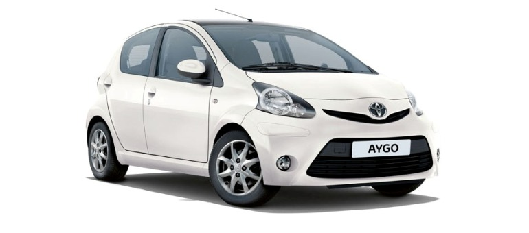 Rent a car Rhodes Toyota aygo autotour rent a car