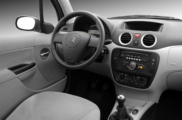 Citroen C3 interior Rhodes Autotour