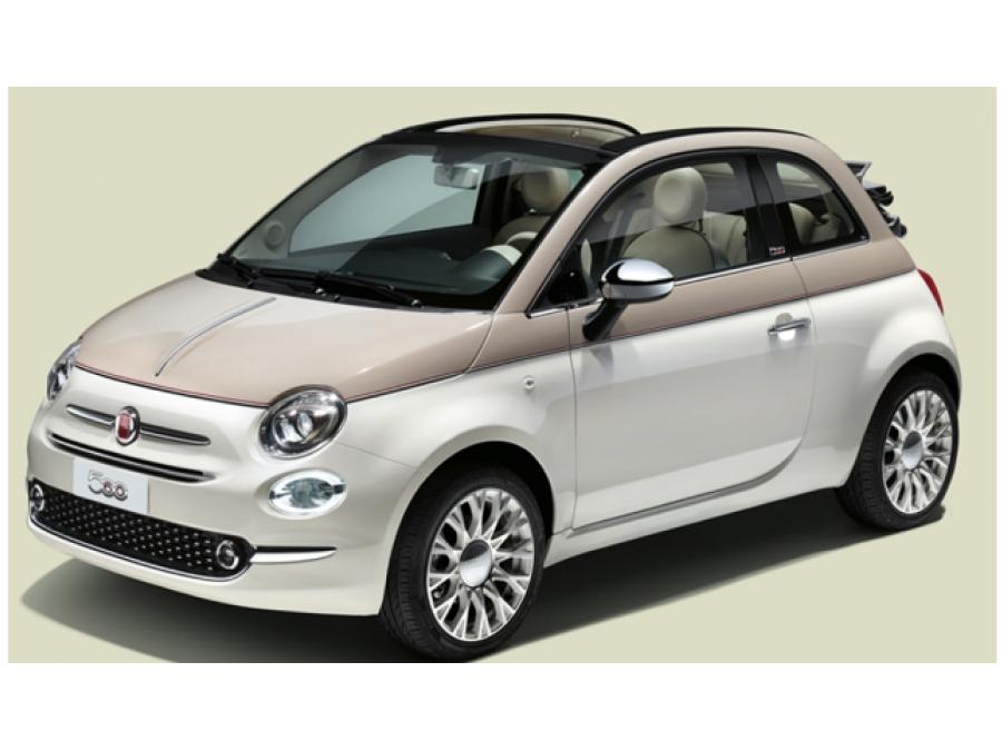 Autotour rent a car Fiat 500 cabrio
