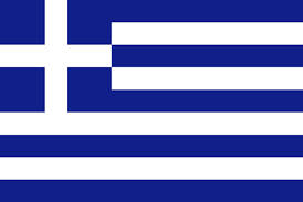 Greek flag from Rent a car Rhodes Autotour