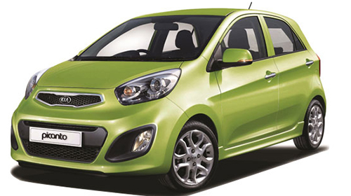 autotour rent a car Kia picanto