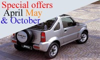 Car rent autotour special offers