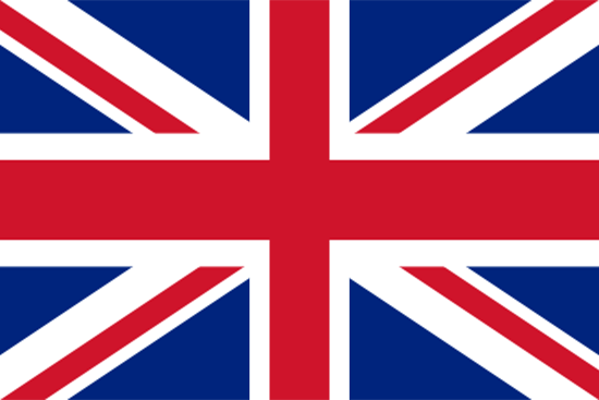 English flag from Rent a car Rhodes Autotour